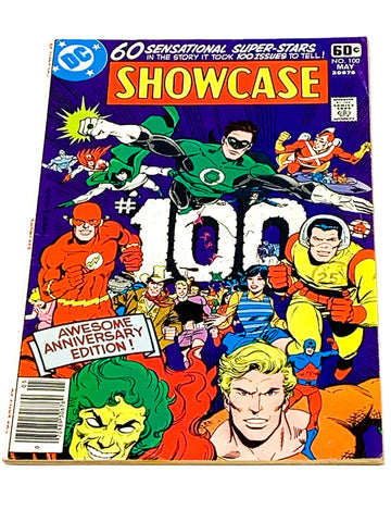 SHOWCASE #100. VG CONDITION. 52 PAGE GIANT.