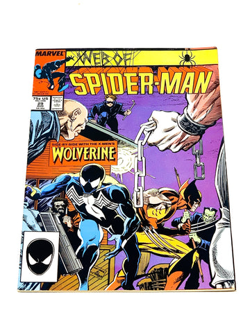 WEB OF SPIDER-MAN #29. VFN- CONDITION.