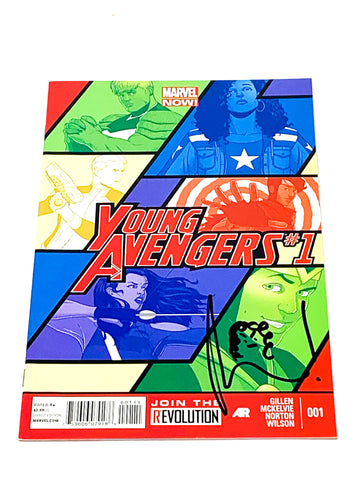 YOUNG AVENGERS VOL.2 #1. NM CONDITION. SIGNED.