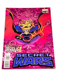 SECRET WARS #3. VARIANT COVER. NM CONDITION.