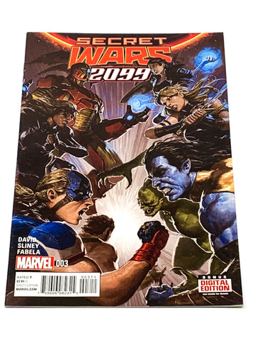 SECRET WARS 2099 #3. NM CONDITION.