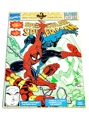 SPECTACULAR SPIDER-MAN ANNUAL #11. NM CONDITION.