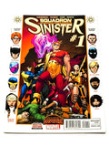 SQUADRON SINISTER #1. SECRET WARS. NM CONDITION.