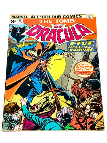 TOMB OF DRACULA VOL.1 #28. FN+ CONDITION.