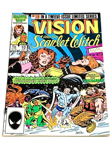 VISION & SCARLET WITCH VOL.2 #10. NM CONDITION.