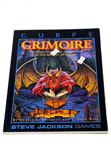 GURPS GRIMOIRE. VFN- CONDITION
