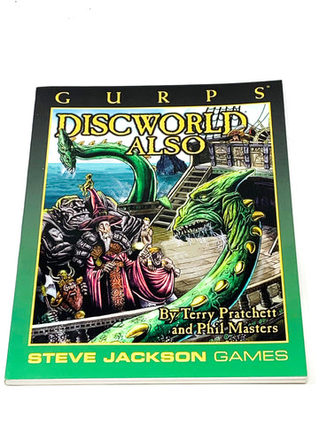 GURPS DISCWORLD ALSO. VFN CONDITION