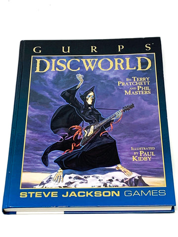 GURPS DISCWORLD H/C. VG CONDITION