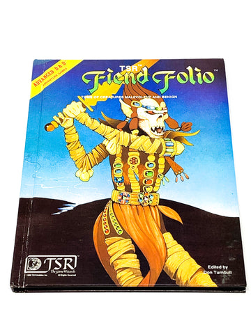 AD&D 1ST ED. FIEND FOLIO. VFN- CONDITION