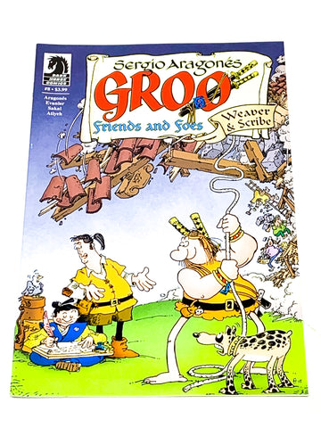 GROO - FRIENDS & FOES #8. NM CONDITION.