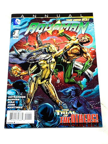 AQUAMAN ANNUAL #1. NEW 52! NM CONDITION.