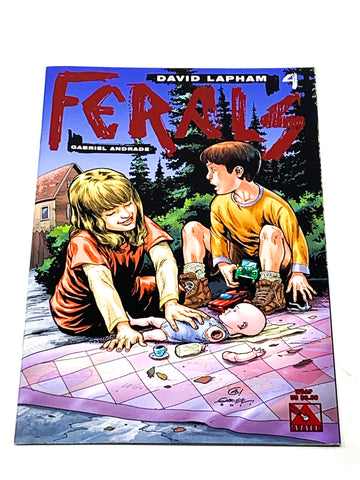 FERALS #4. NM CONDITION.