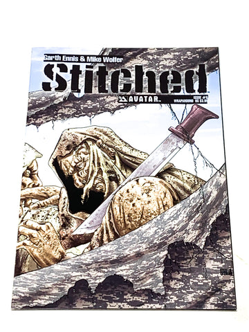 STITCHED #6. NM CONDITION.