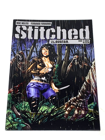 STITCHED #12. NM CONDITION.