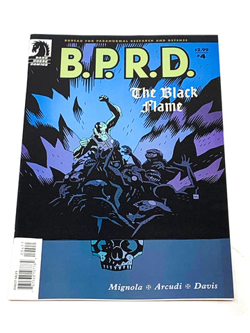 BPRD - THE BLACK FLAME #4. NM CONDITION.