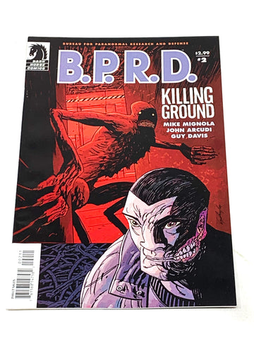 BPRD - KILLING GROUND #2. NM- CONDITION.