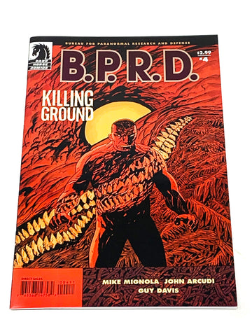 BPRD - KILLING GROUND #4. NM CONDITION.