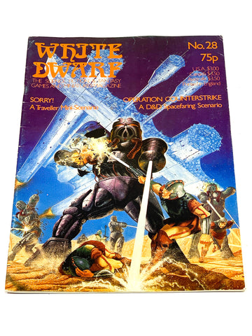 WHITE DWARF #28. FN- CONDITION.