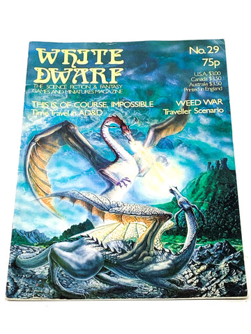 WHITE DWARF #29. FN+ CONDITION.