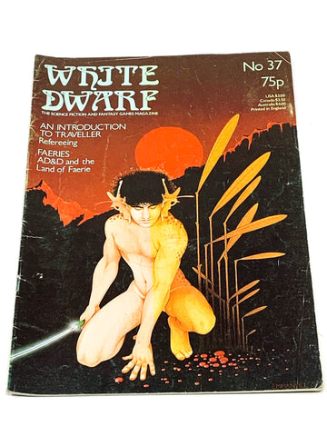 WHITE DWARF #37. VG+ CONDITION.