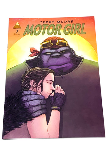 MOTOR GIRL #7. NM CONDITION.