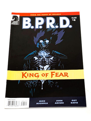 BPRD - KING OF FEAR #4. NM CONDITION.