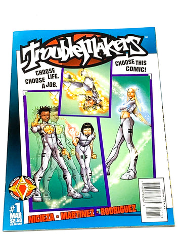 TROUBLEMAKERS #1. NM CONDITION.