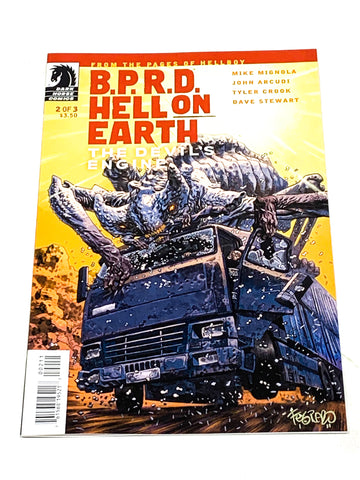 BPRD - HELL ON EARTH: THE DEVIL'S ENGINE #2. NM CONDITION.