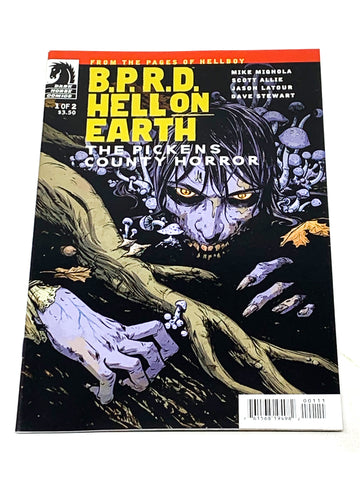 BPRD - HELL ON EARTH: THE PICKENS COUNTY HORROR #1. NM CONDITION.