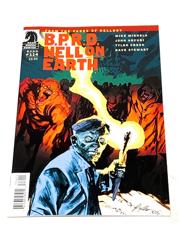 BPRD - HELL ON EARTH #114. NM CONDITION.