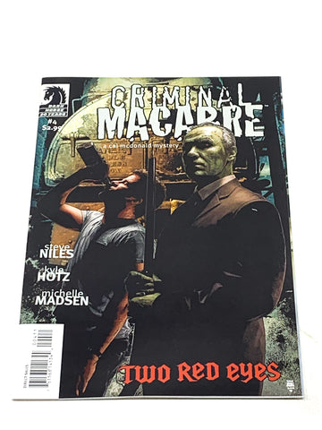CRIMINAL MACABRE - TWO RED EYES #4. NM CONDITION.