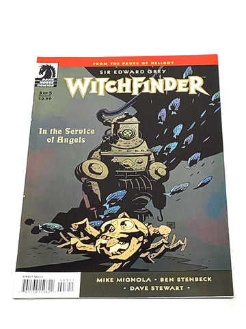 WITCHFINDER - IN THE SERVICE OF ANGELS #3. NM CONDITION.