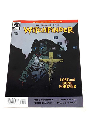 WITCHFINDER - LOST AND GONE FOREVER #2. NM CONDITION.