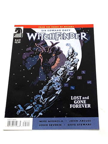 WITCHFINDER - LOST AND GONE FOREVER #5. NM CONDITION.