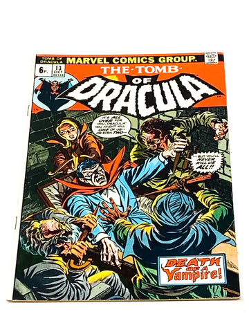 TOMB OF DRACULA VOL. 1 #13. FN CONDITION.