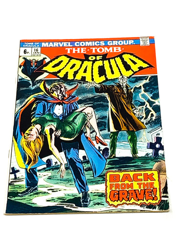 TOMB OF DRACULA VOL. 1 #16. FN- CONDITION.