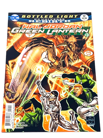 HAL JORDAN & THE GREEN LANTERN CORPS #12. NM CONDITION