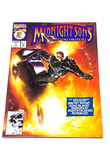 MIDNIGHT SONS UNLIMITED #1. VFN+ CONDITION.
