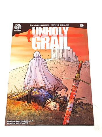 UNHOLY GRAIL #5. NM CONDITION.