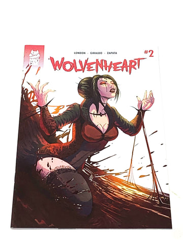WOLVENHEART #2. NM CONDITION.
