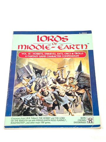MERP - LORDS OF MIDDLE EARTH VOLUME 3. VG+ CONDITION.