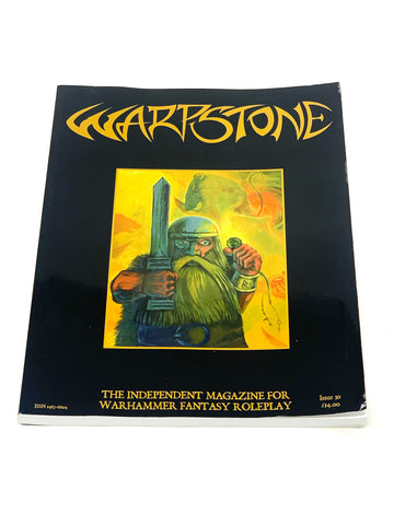 WARPSTONE MAGAZINE #30. NM- CONDITION.