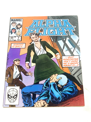 ALPHA FLIGHT VOL.1 #7. VFN+ CONDITION.