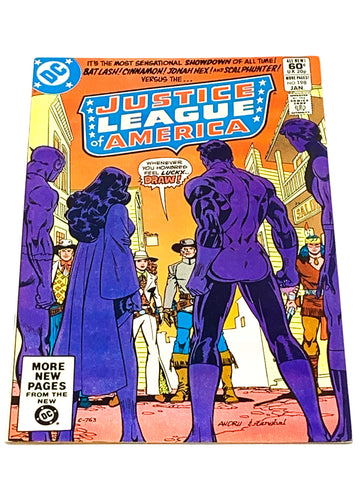 JUSTICE LEAGUE OF AMERICA #198. VFN+ CONDITION