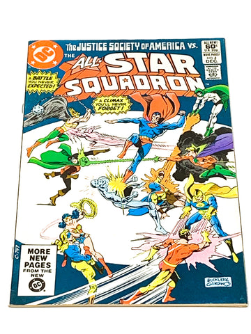 ALL STAR SQUADRON #4 - VFN- CONDITION