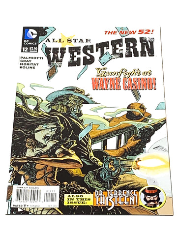 ALL STAR WESTERN #12. NEW 52! NM CONDITION