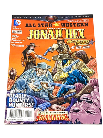 ALL STAR WESTERN #20. NEW 52! NM CONDITION
