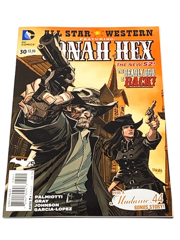 ALL STAR WESTERN #30. NEW 52! NM CONDITION