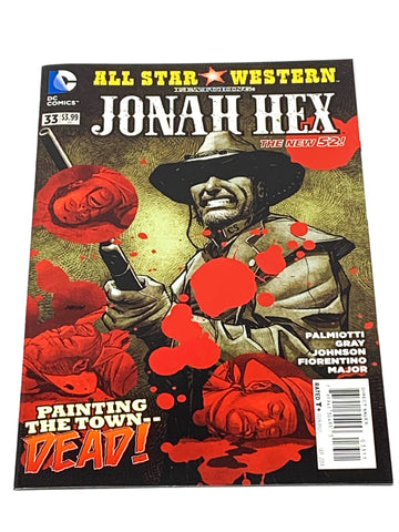ALL STAR WESTERN #33. NEW 52! NM CONDITION
