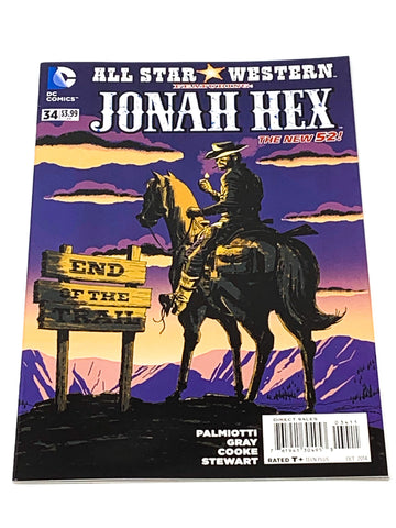 ALL STAR WESTERN #34. NEW 52! NM CONDITION